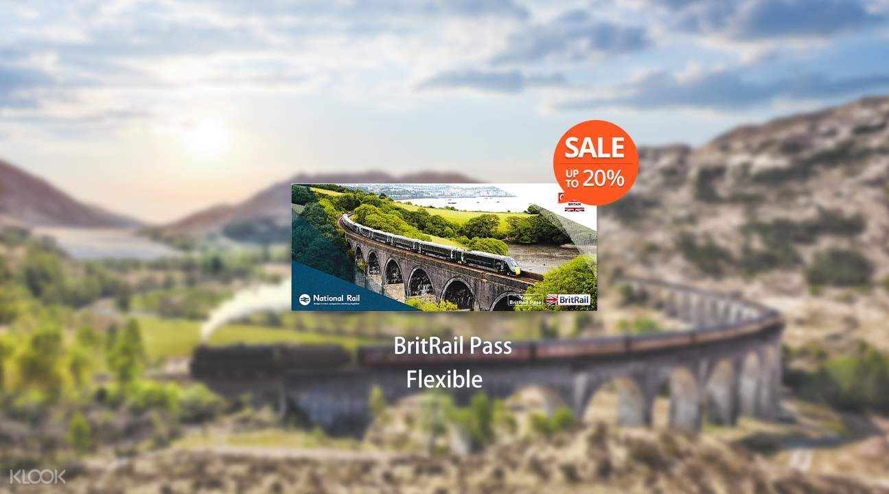 [Sale] BritRail Pass (Flexible 3, 4, 8 or 15 Days)